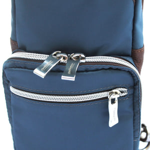 Orobianco Giacomio Sling Bag in colour Avio - Forero's Bags and Luggage Vancouver Richmond