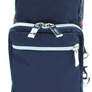 Orobianco Giacomio Sling Bag in colour Blu Scuro - Forero's Bags and Luggage Vancouver Richmond