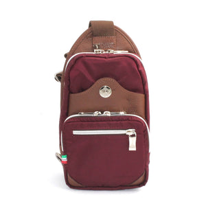Orobianco Giacomix Sling Bag in Wine - Forero's Vancouver Richmond