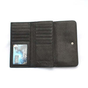 Osgoode Marley Card Case Leather Wallet in Black - Forero's Vancouver Richmond