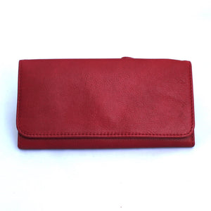 Osgoode Marley Card Case Leather Wallet in Garnet - Forero's Vancouver Richmond