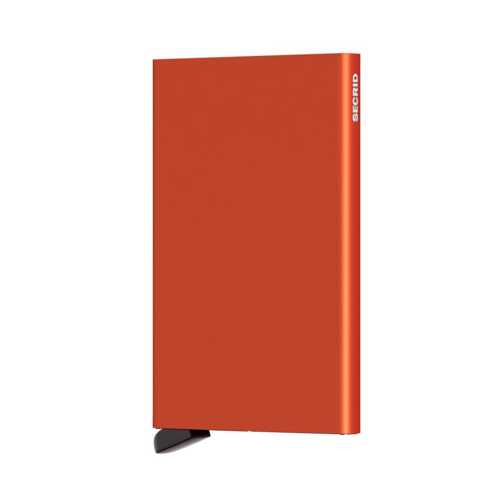 Secrid Cardprotector in Orange front