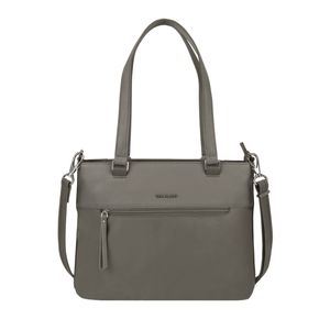 Travelon Anti-Theft Addison Women's Tote in colour Grey - Forero's Bags and Luggage Vancouver Richmond