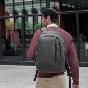 Travelon Anti-Theft Urban Backpack in colour Slate - Forero's Bags and Luggage Vancouver Richmond