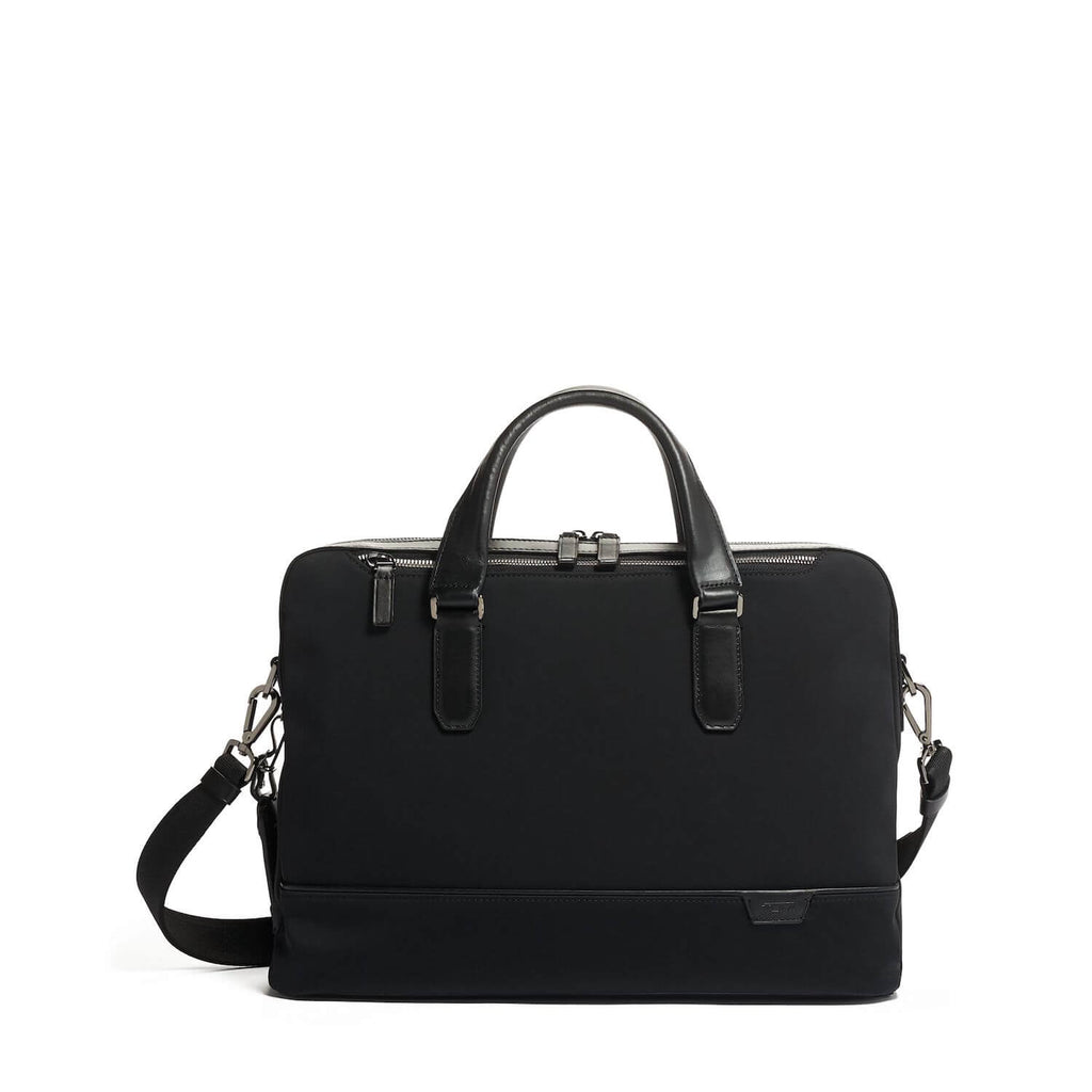 TUMI Harrison Barnes Brief in Black front view