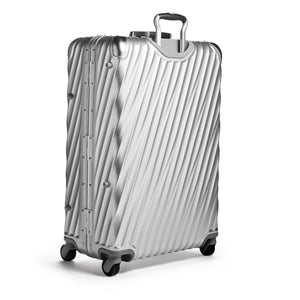TUMI 19 Degree Aluminum Extended Trip Packing Case in Silver rear view