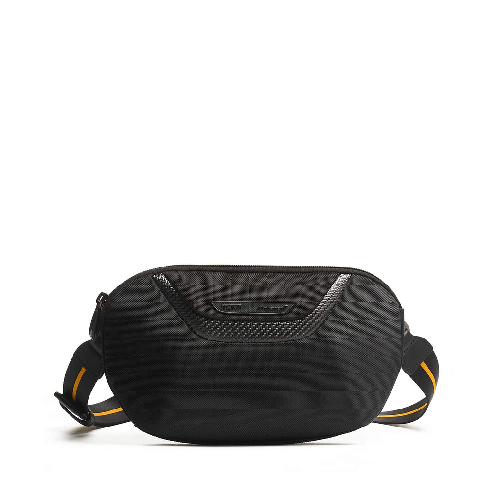 TUMI | McLaren Lumin Utility Pouch in Black front
