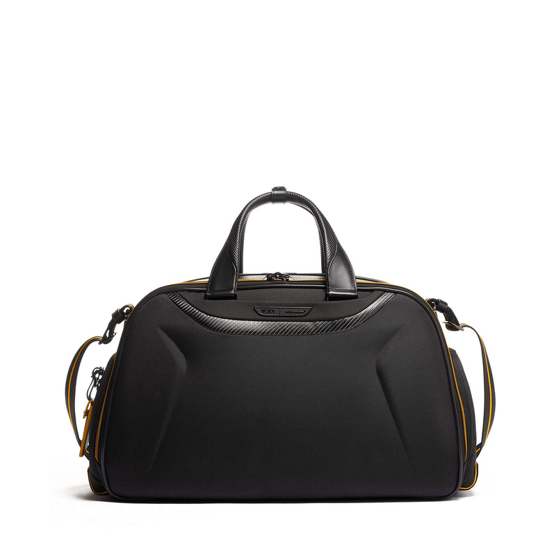 TUMI | McLaren Quantum Duffle in Black side pocket