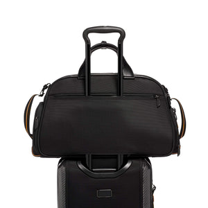TUMI | McLaren Quantum Duffle in Black add-a-bag