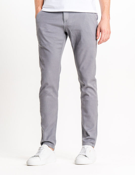 Classic Pants Slim Light Grey