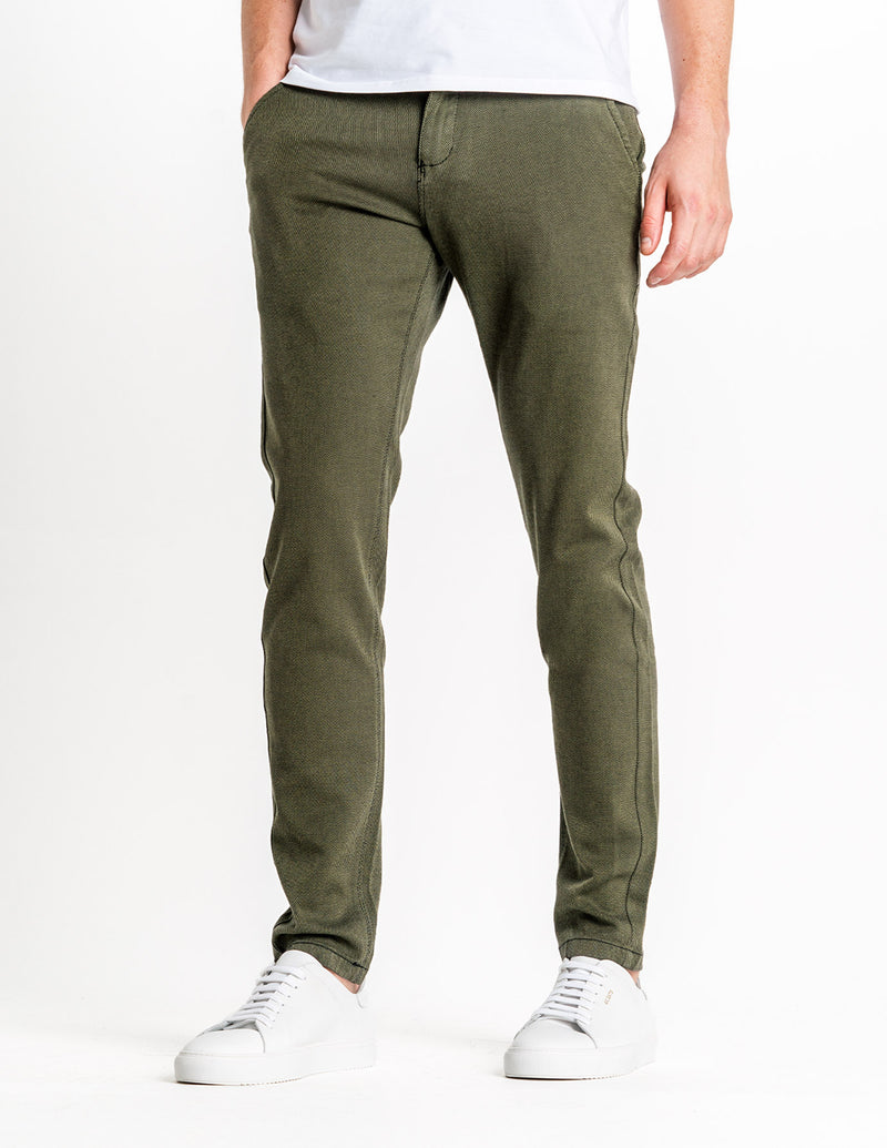 Classic Pants Slim Nature Green