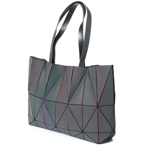 Geometric Luminous Tote