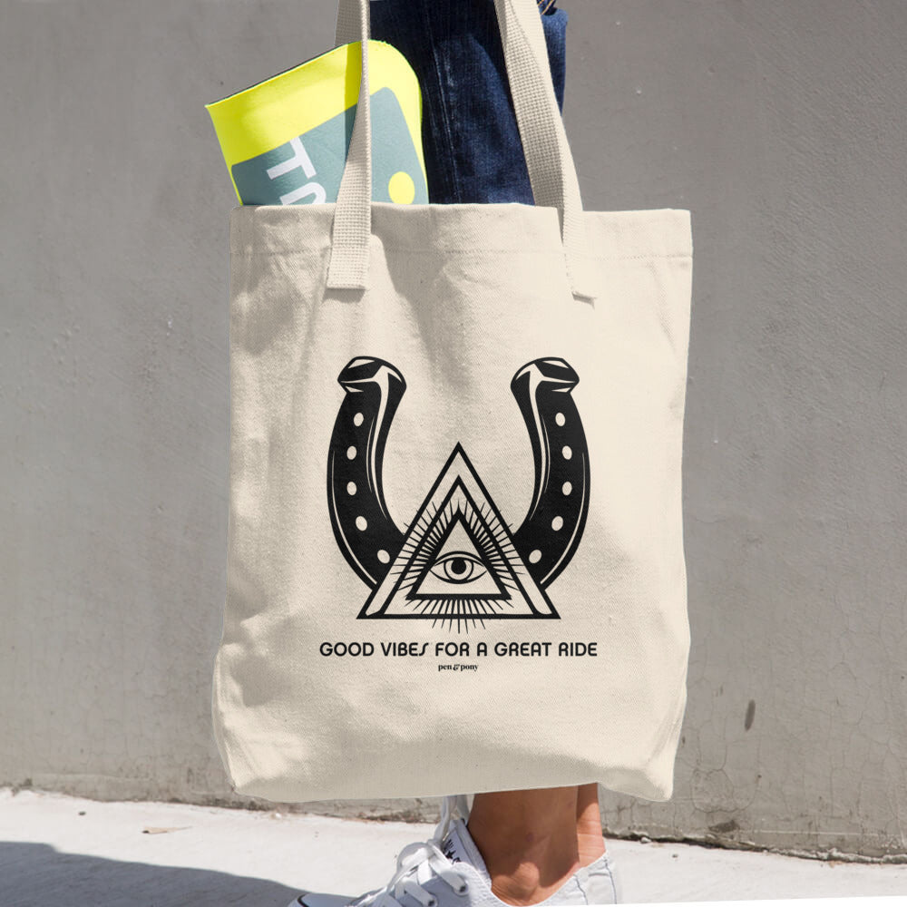 Good Vibes | Canvas Tote