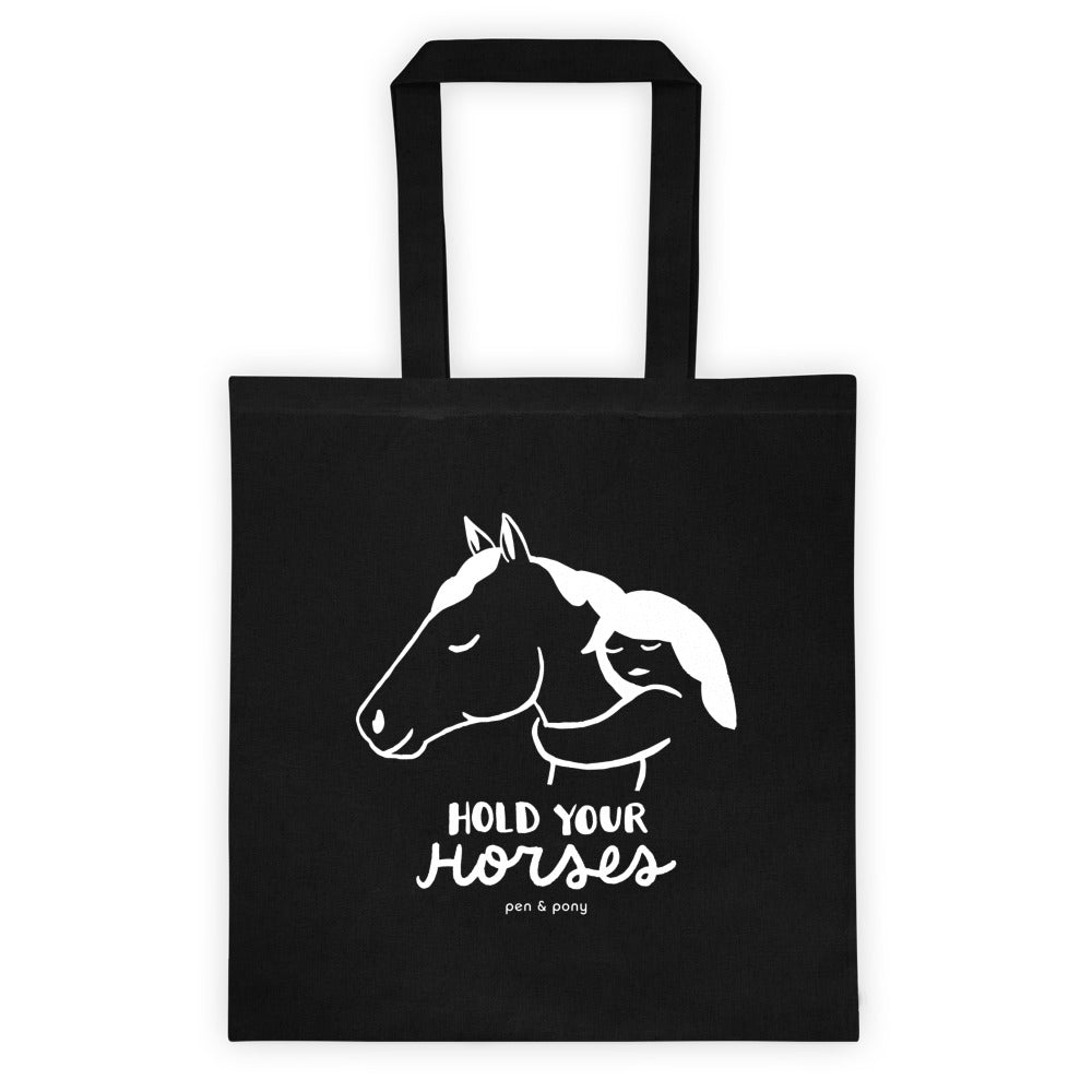 Hold Your Horses Unbridled | Cotton Tote