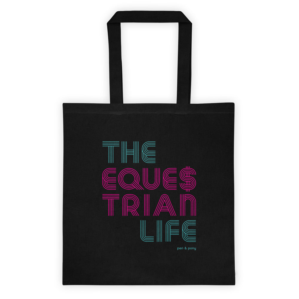 The Equestrian Life | Cotton Tote