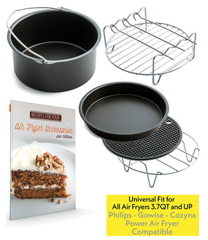 Air Fryer Accessories Set of 5 - Fit 3.7QT