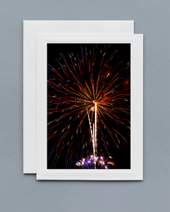 Lavilo™ Greeting Cards - Front Side Fireworks