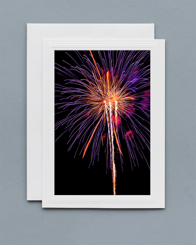 Lavilo™ Greeting Cards - Front Side - Fireworks