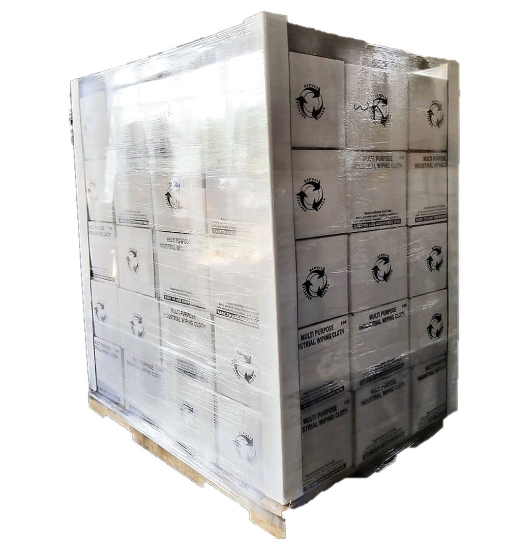 Heavy Duty Cotton Wiping Rags - 600 lbs Pallet
