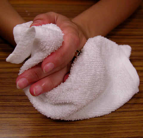 New Half Towel Rags - Approx. 20x20 - 10LB Box