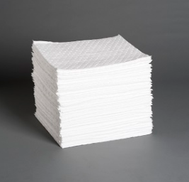 BP100: Bonded Sorbent Pads - Heavy Weight