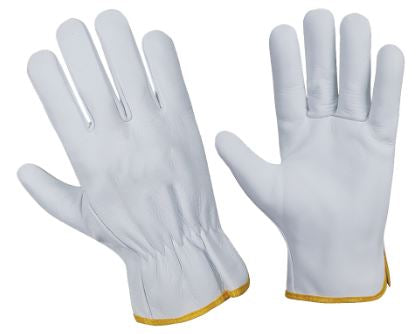 Multi-purpose Leather Gloves - White