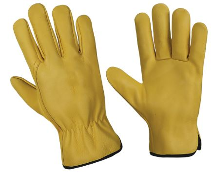 Multi-purpose Leather Gloves - Yellow