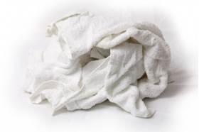 New Half Towel Rags - Approx. 20x20 - 25LB Box