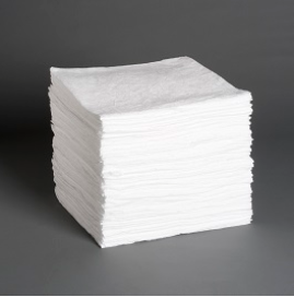 L100: Oil Only Sorbent Pads