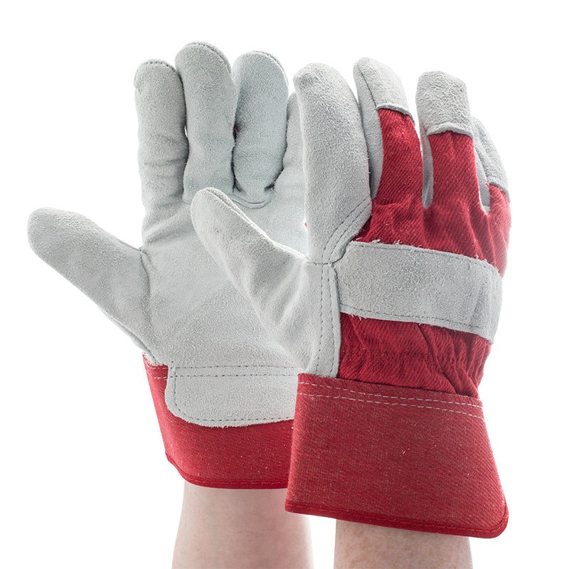 Leather Work/Rigger Single Palm Gloves