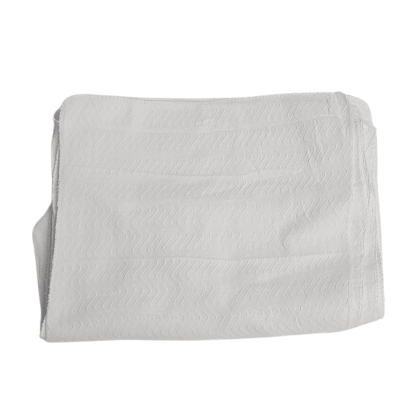 Heavyweight White 100% Cotton Rags- 540lbs Pallet