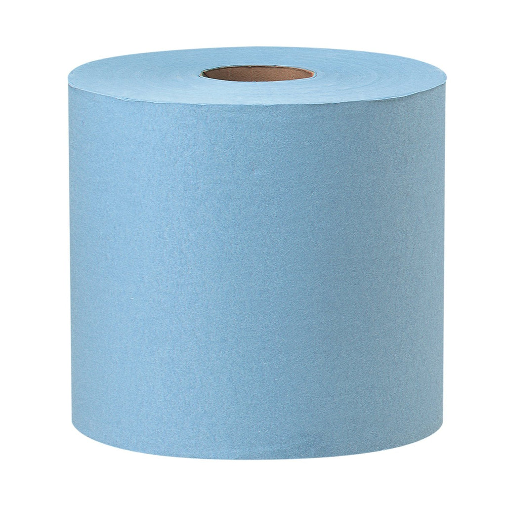 Jumbo Lint Free Paper Wipes 800 - Blue/Red/White