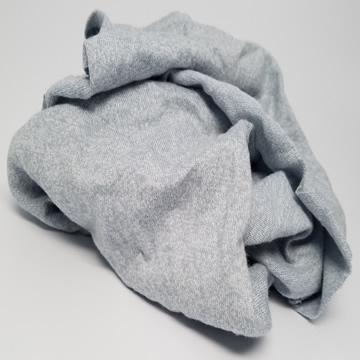 Gray Knit T-Shirt Wiping Rags - 600 lbs Pallet