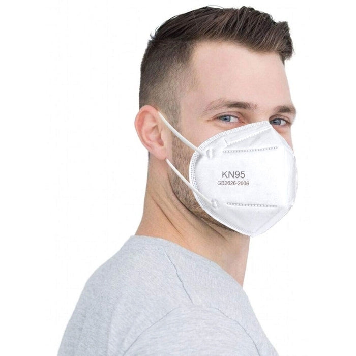KN95 Face Mask, Breathable (Pack of 10 Masks)