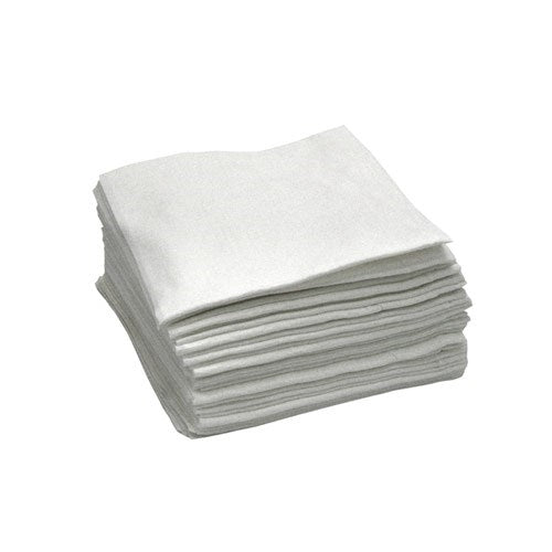 Lint Free Paper Wipes -1/4 Fold - Blue/Red/White