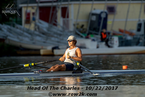 Olympic Rowing Hopeful Luke Rein