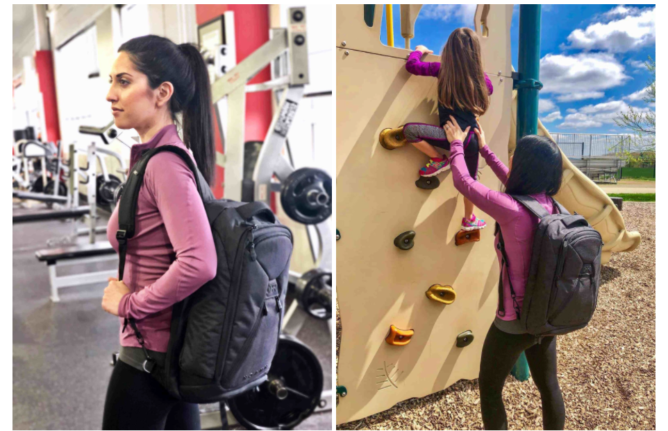 Best Backpack for Mom Workout - Live Core Strong