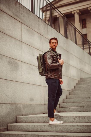Men's Style Blogger Rocking the Knack Pack