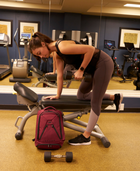 Best laptop backpack that's also a gym bag