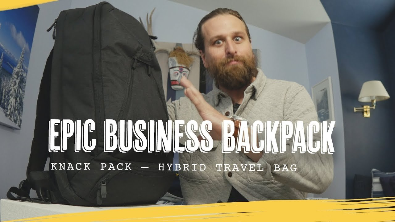 Chase Reeves Recommended Business Backpack