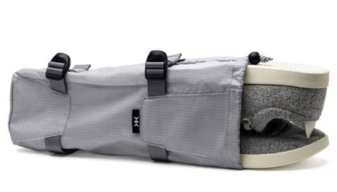 Compressible Shoe Bag with Divider