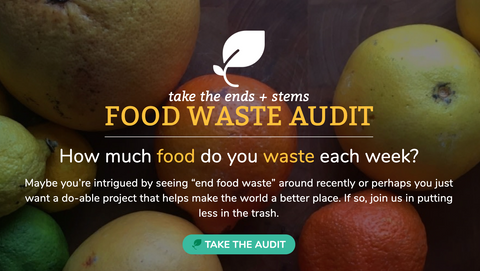 Calculate amount of household food waste