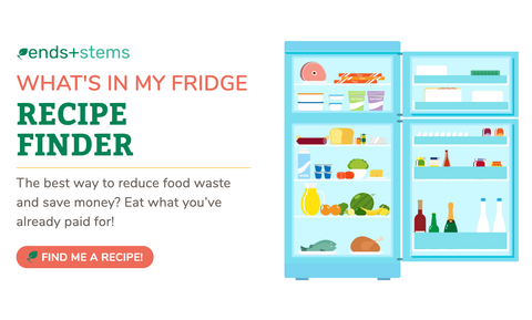 Not sure what to make?  Check your fridge and find recipes!