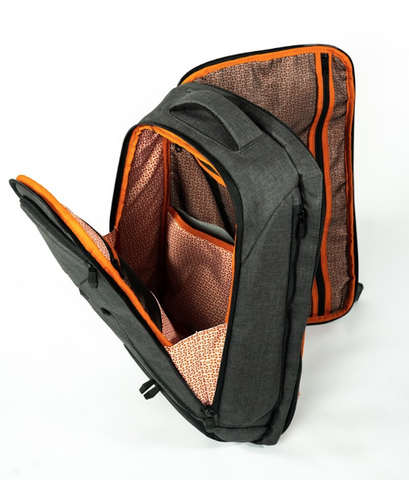 Expandable Laptop Backpack - Full View