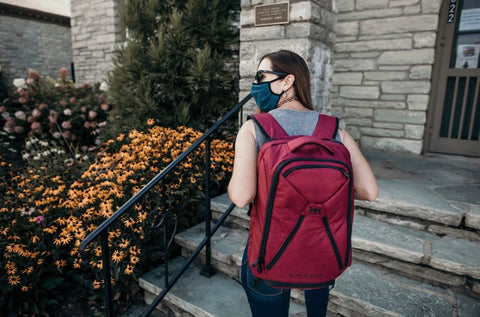 Review of Knack Pack as Travel Work Backpack