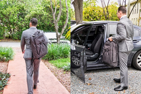 Carryology Knack PAck review of a business traveler