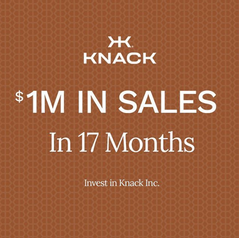 Knack Bags equity crowdfunding campaign