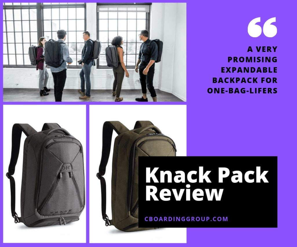 Review of the Knack Pack Laptop Backpack
