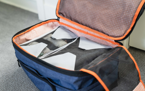 Knack Packing compression cube for travelers
