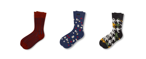 Fashionable Mens Socks from Pair of Thieves